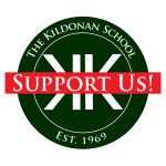 Kildonan logo with Support Us! banner